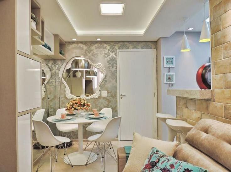20 salas de jantar pequenas!!   jeito de casa   blog de decoração