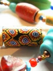 antique stone beads