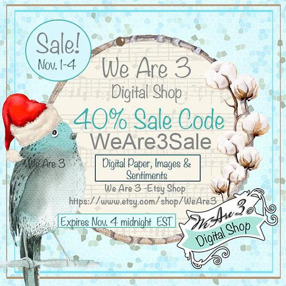 40% off sale til 4 November 2017
