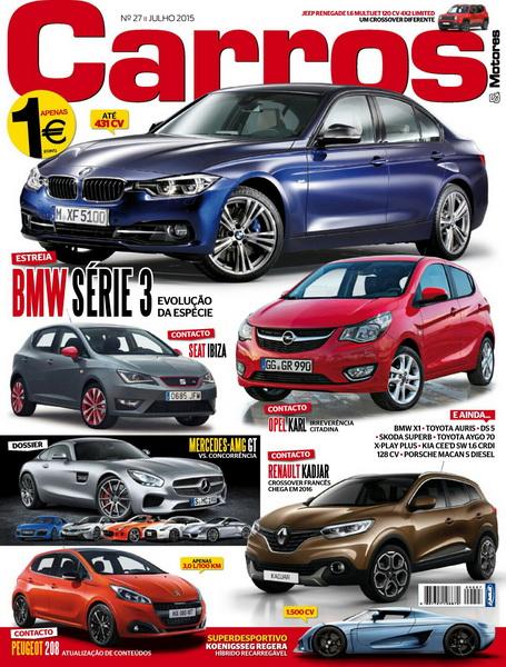 Carros & Motores – Nº 27 Julho (2015)