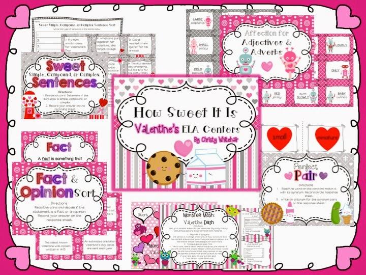 https://www.teacherspayteachers.com/Product/How-Sweet-It-Is-Valentines-Day-Centers-1096595