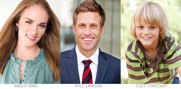 Amber Sims - Kyle Lawson - Cole Errecart - Cast Images