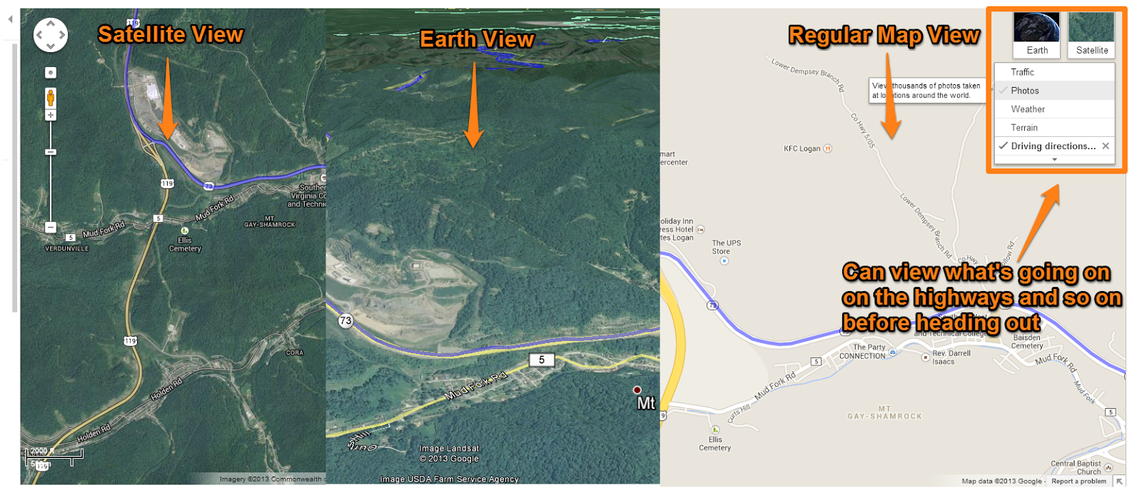 below is the view of the project for class of the camping trip our class is doing by using craiglist to buy an rv etc using google maps to pinpoint the