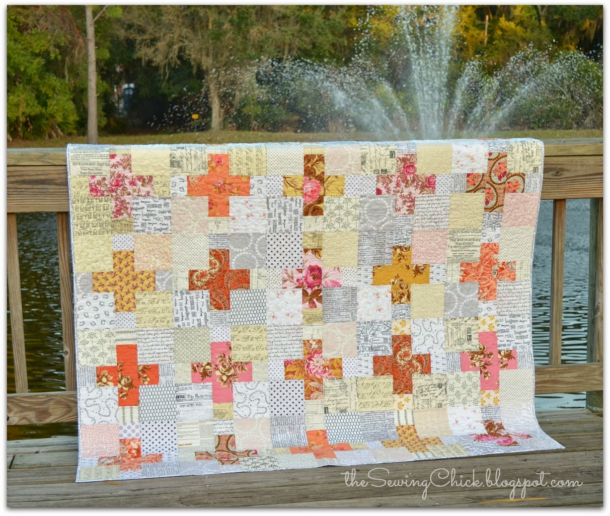 modern handmade quilt plus block the sewing chick