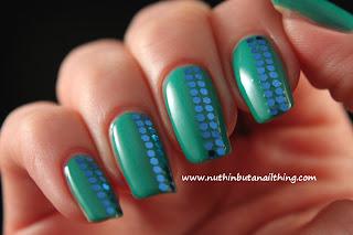 Sinful Colors Rise and Shine green nail polish