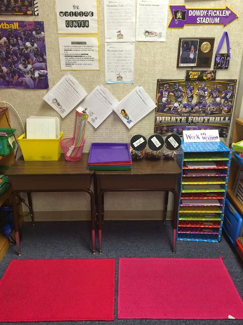 Elementary Classrooms Writing : The pirate queen teacher a classroom writing center