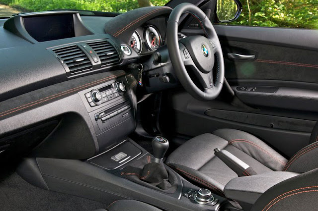 2011 BMW 1 series M coupe Front Side Interior