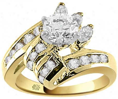 engagement rings for women yellow gold engagement rings for women