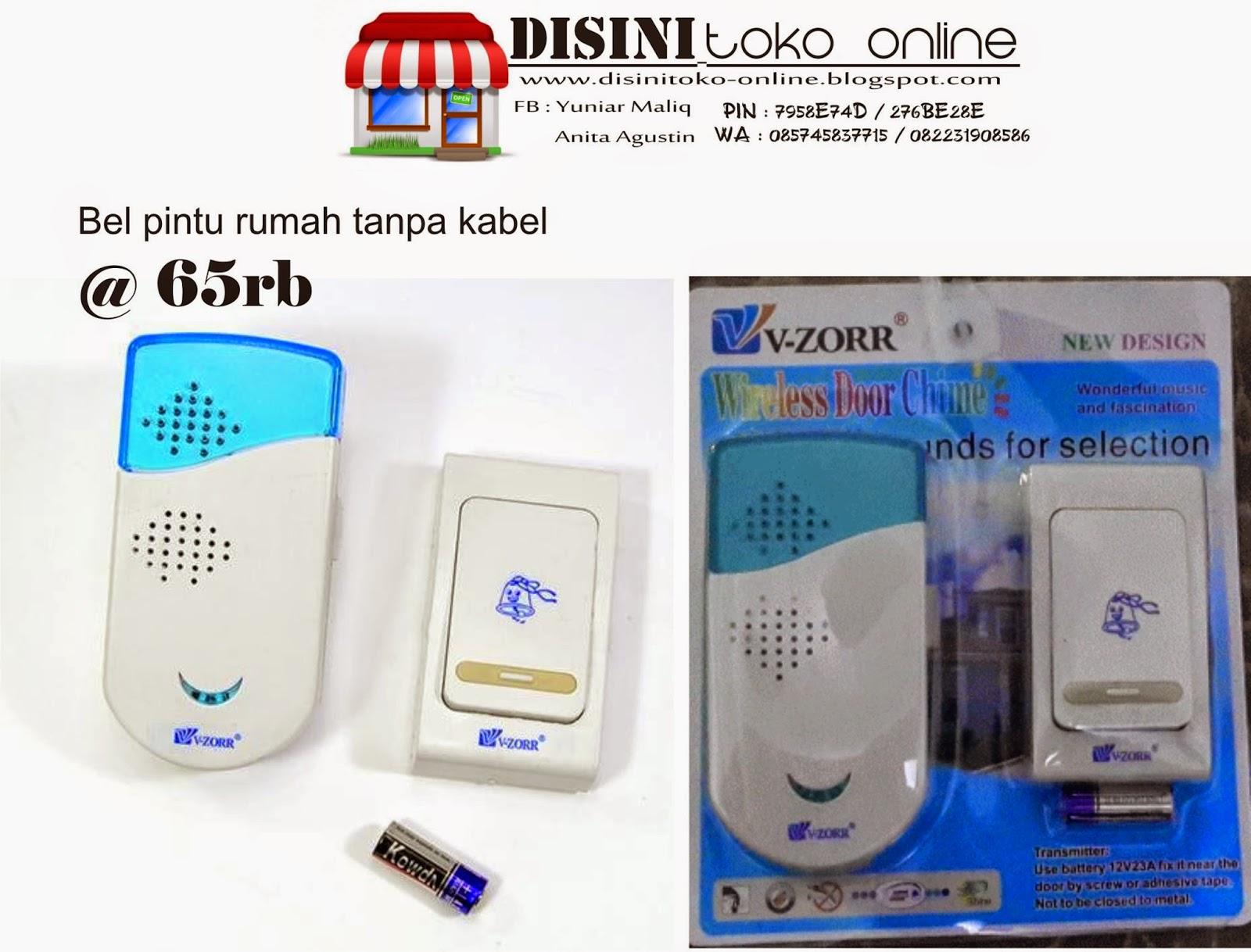Disini Toko Online November 2014 Vzorr Bel Pintu Wireless Makanya Buruan Cobain Sendiri Deh