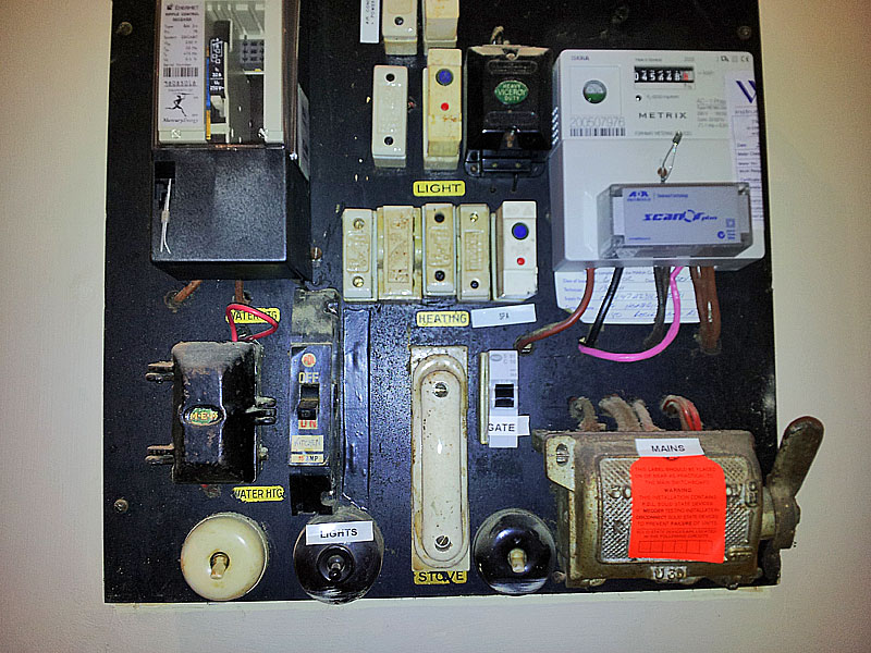Electrical Fuse Box Fuse Board or Meter Box