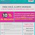 MAIO: Mês de desconto em Material Gráfico e Comunicação. Aproveite! | Agencia Worship