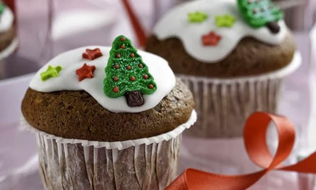 20 Ideias para Decorar Cupcakes de Natal