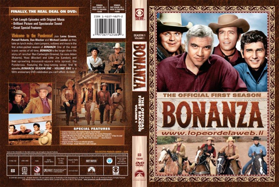 Bonanza - S01 E08 E09 E10 - Audio Latino