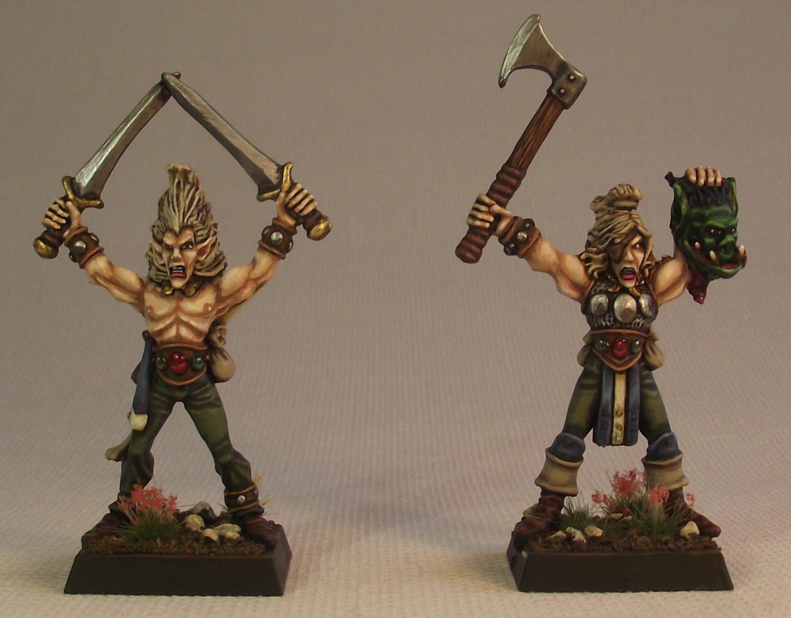 Painting Wood Elf Wardancers