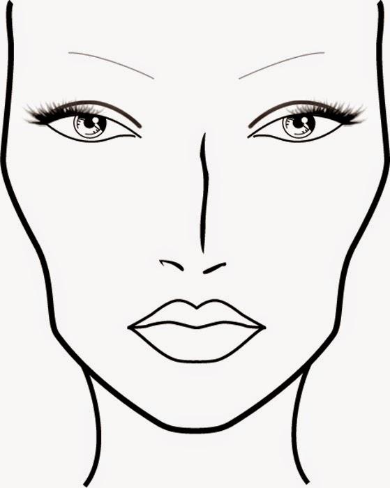 makeup drawing face - photo #12