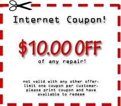 Fleet Appliance Repair Coupon.