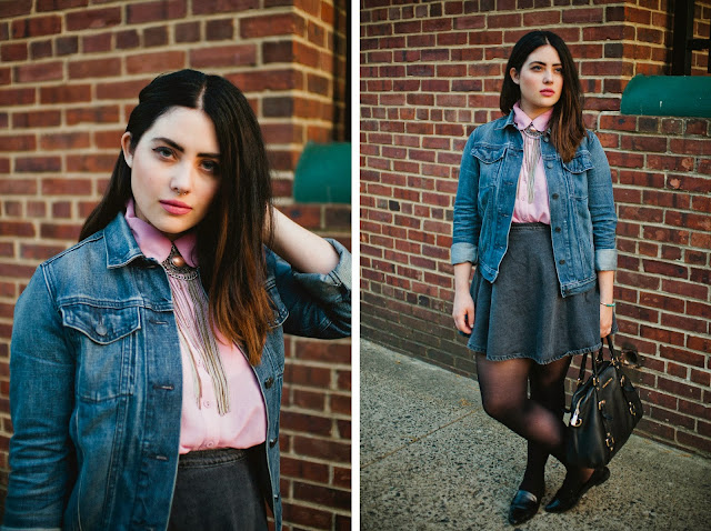 Philadelphia, fashion, blogger, Lebanese, Italian, grunge, punk,