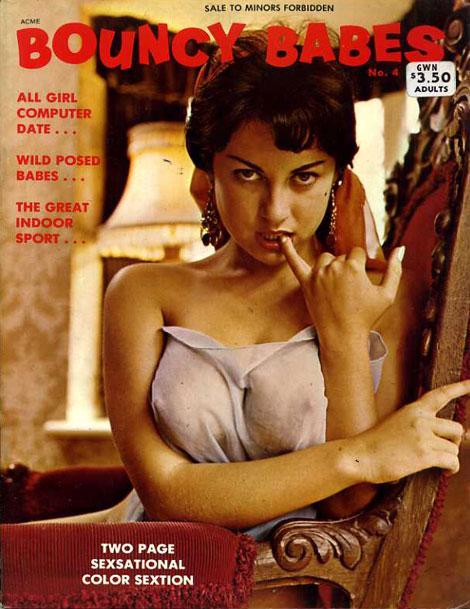 Vintage Adult Magazine Covers