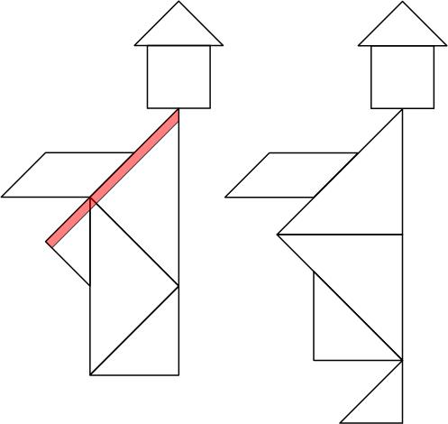 Ответ на головоломку с танграмом
