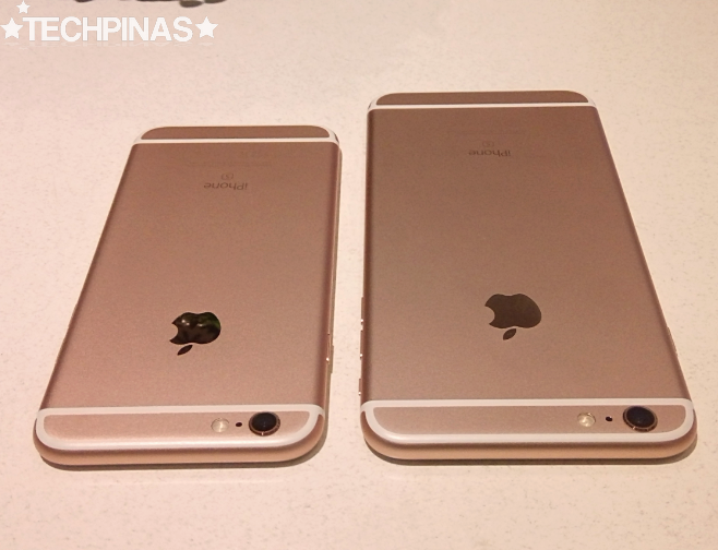 Apple iPhone 6S versus Apple iPhone 6S Plus