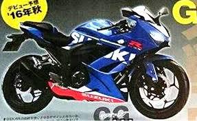 Foto Suzuki GSX-R250 2016 Terbaru Motor 250 cc