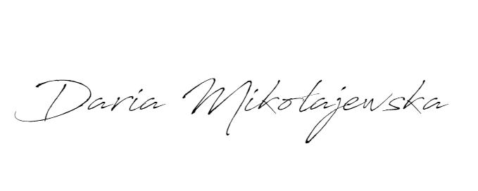 Daria Mikołajewska