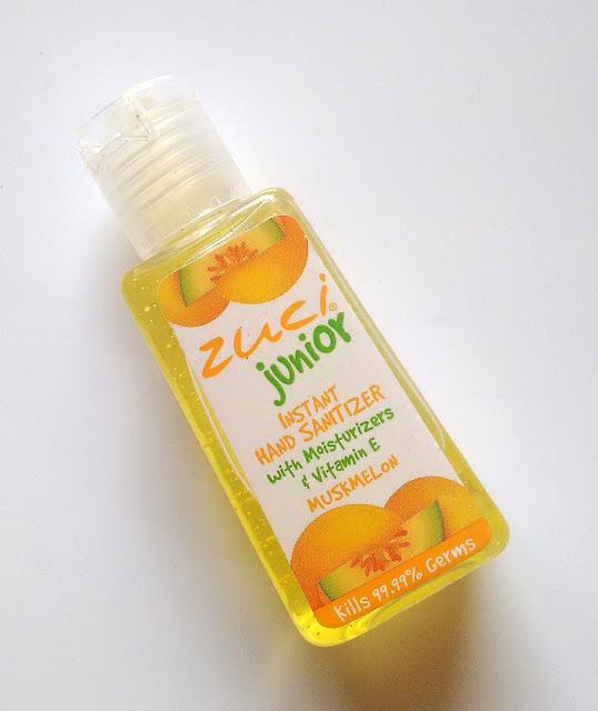 Juci Junior Hand Sanitizer Muskmelon Review