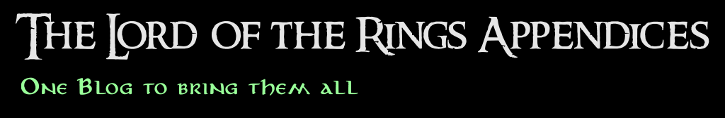 The Lord of the Rings Appendices