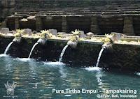 Paket Tour 3H2M Bali - Pura Luhur Tirta Empul