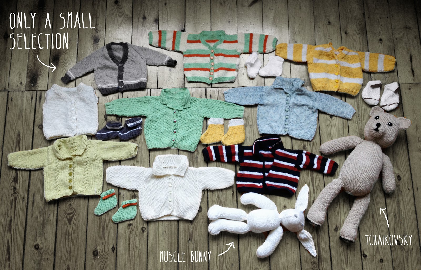knitting by gaga