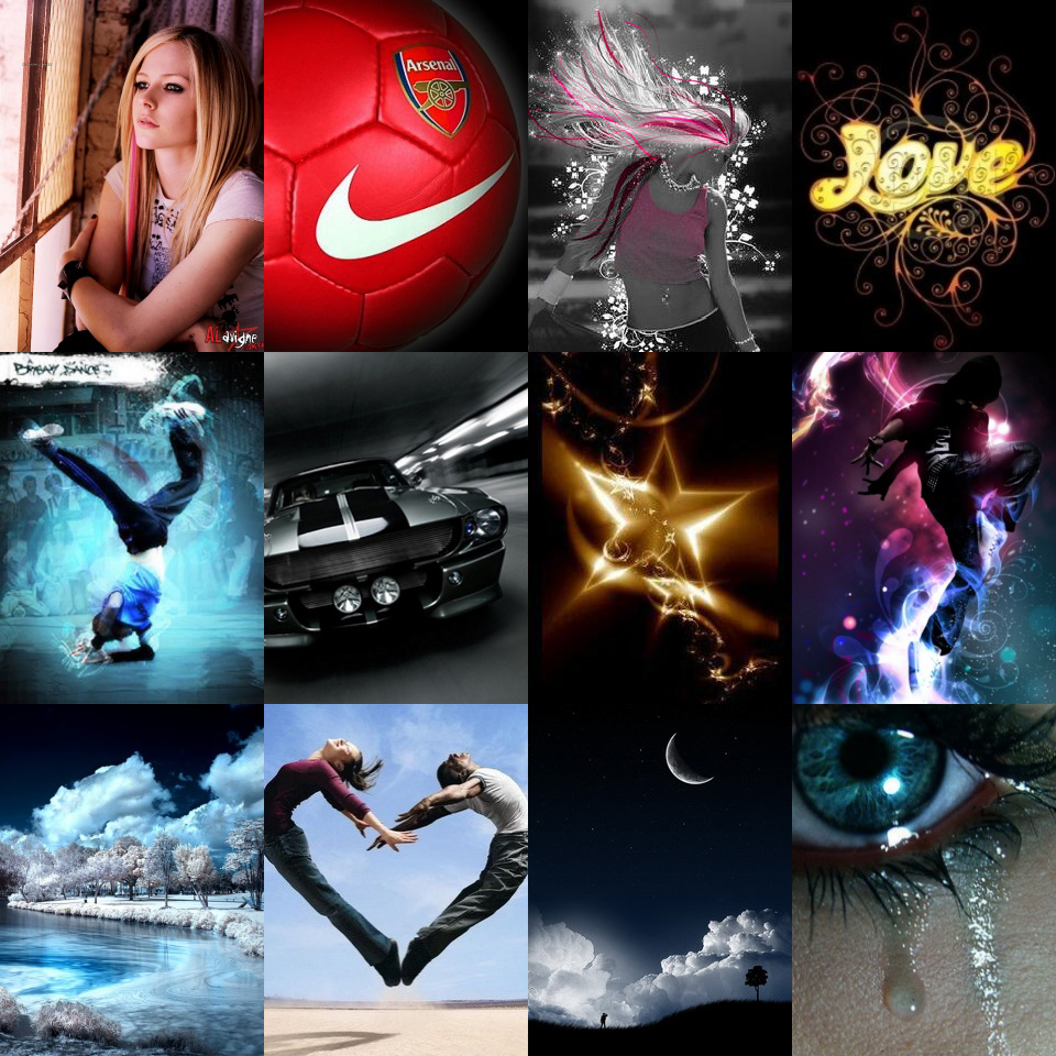 Creative Wallpapers: 304 Creative Mobile Wallpapers 240x320