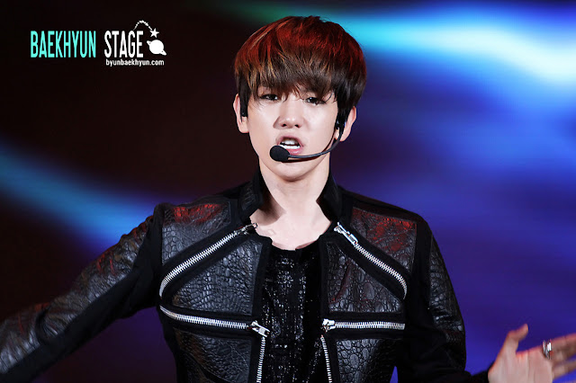 Exo k baekhyun new hairstyle photos hd