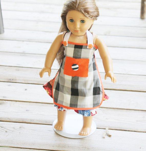 18 inch doll apron