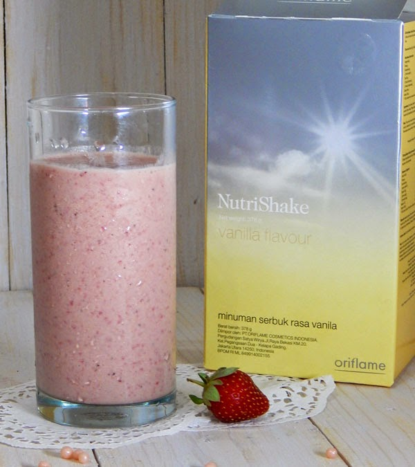 Nutrishake Fresh Strawberry