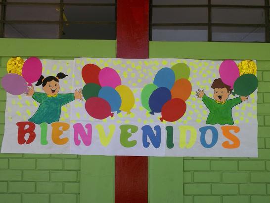 Mis primeras experiencias bienvenidos a nuestra for Cancion para saludar al jardin de infantes