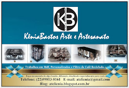"""Acesse a página Inicial do blog """"KêniaBastos Arte e Artesanato"""" e conheça nosso trabalho."""