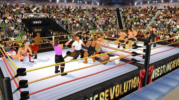 Wrestling Revolution 3D Gameplay IOS / Android