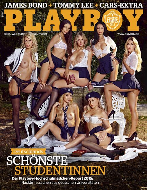 Playboy girls of Hot Sexy