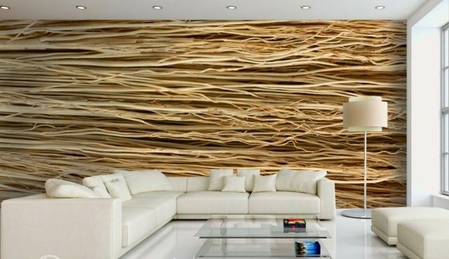 Wall Decoration Ideas With Photo Wallpaper Abstract
