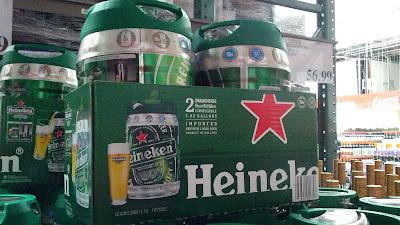 Heineken keg tastes like it came from the tap