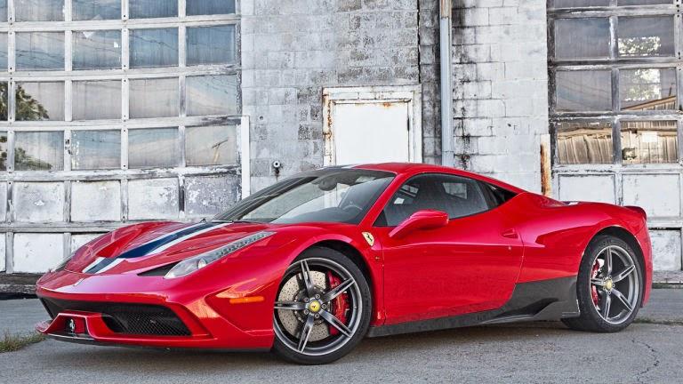 Italian Sportscar Ferrari 458 Speciale