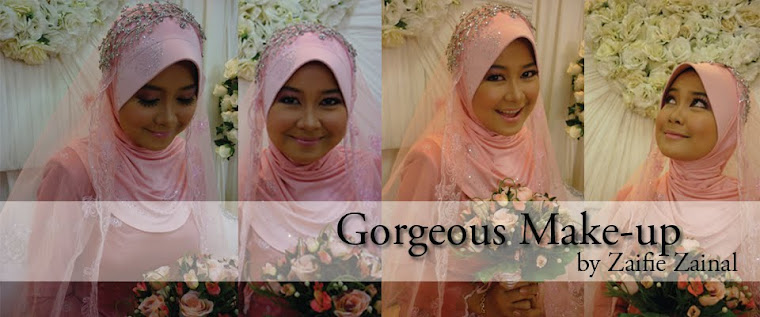 Click here for more Gorgeous Make-up by Zaifie Zainal