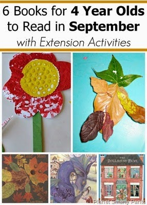 6 September Books for Preschoolers with Activities #preschool #bookrecommendations #fall