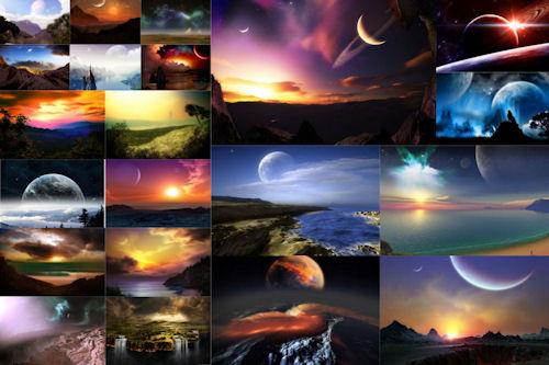 Paisajes fantásticos by Photoshop (21 imágenes)