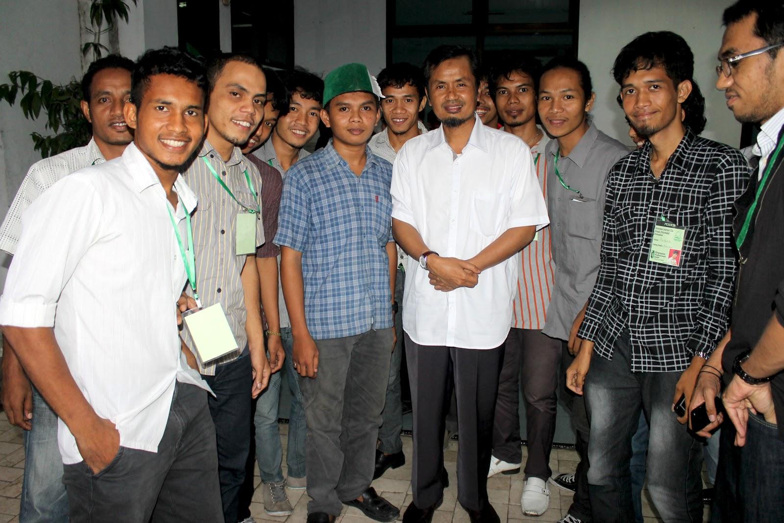 Peserta LK II Bersama Kakanda Ir. H. Abd. Kahar Muzakkar (Anggota DPD RI)