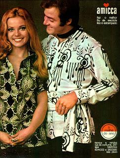 propaganda fio de escócia Amicca - 1970