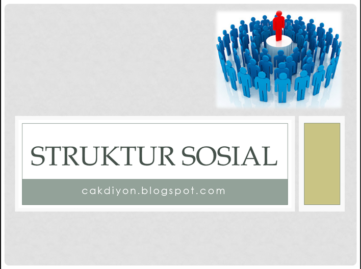 Struktur Sosial Rangkuman Materi