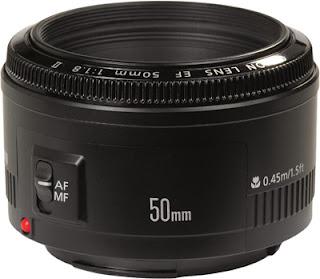 50mm f/1.8 Prime Lens