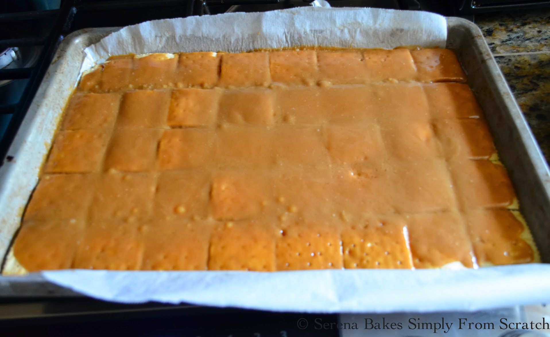 toffee-on-crackers