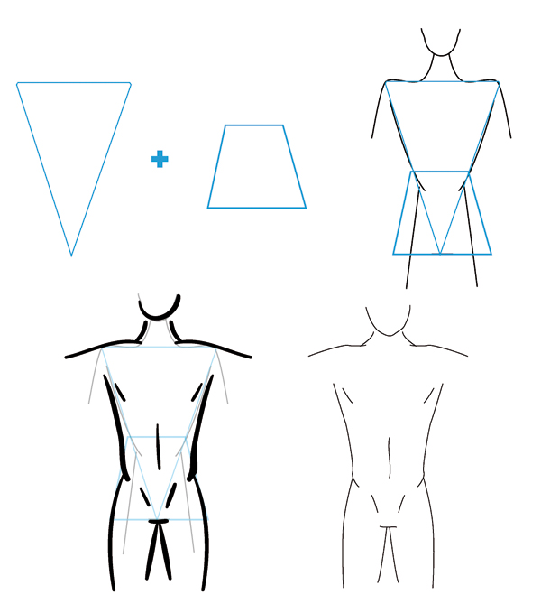 Drawing Lines With Qt : Body shape